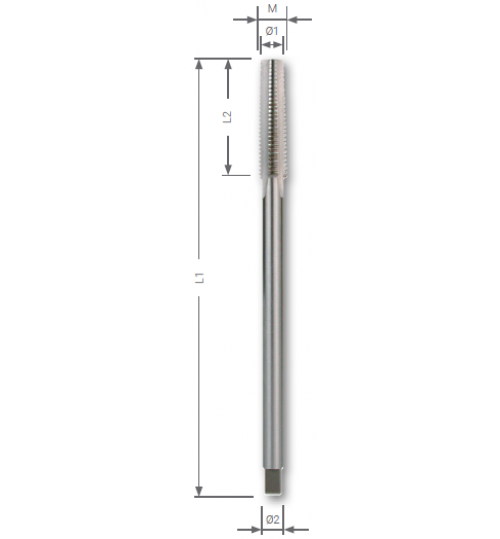 M DIN 357 Somun Kılavuzları, HSS
